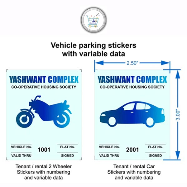 parking stickers